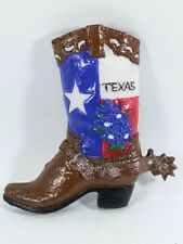 3D Resin Travel Decorative Fridge Magnet Craft Gift Souvenir Tourist Texas Boots