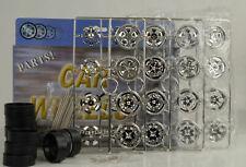 16 Jantes Pneus Reifen Roues 4 Pièce Chrome Tuning Accessoire Diorama 1:18