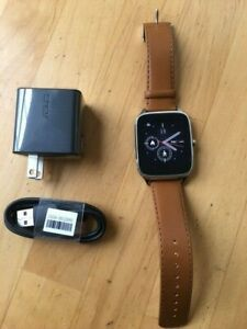 ASUS ZenWatch 2 WI501Q, brown leather band, New, No original box