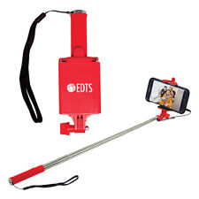 25 Personalized Wired Mini Selfie Sticks - Custom Wholesale Bulk Lot