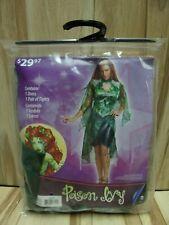 Womens Poison Ivy 2 Piece Costume Sz Medium (8-10)