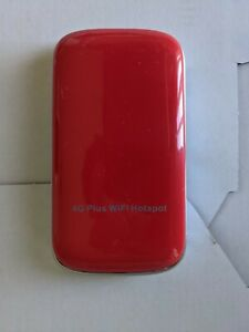 Virgin Mobile 4G Plus Wifi Hotspot Modem ZTE Red MF90C