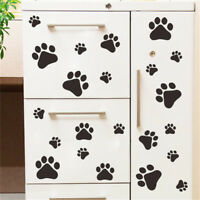 dog cat paw print for kids room decal wall stickers DIY decor removablRKUS