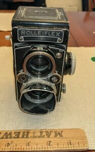 EARLY ZEISS ROLLEIFLEX CAMERA GERMANY FRANK HEIDECKE GERMANY SYNCHRO COMPUR