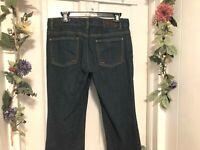 Michael Kors Women's Blue Jeans Flair - Stretch Denim Junior's Sz 8 - 32W x 33L