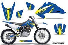 Honda CRF 150/230F Graphic Kit AMR Racing Decal Sticker Part 03-07 CONTENDER BLU