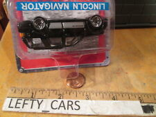 ACTION BLACK LINCOLN NAVIGATOR CARD - FACTORY ERROR (IT'S UP SIDE DOWN) RARE!