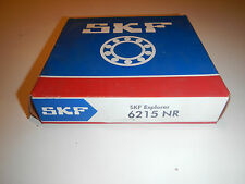 SKF Typ: 6215 NR / Rillenkugellager mit Ringnut, 75x130x25 NEU/OVP