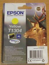 GENUINE EPSON T1304 XL Yellow cartridge vacuum sealed ORIGINAL OEM STAG ink