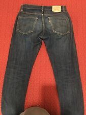 LVC Levis 505 Jeans; Big E, Selvedge, S-Stitch; USA Made.Tag 34/36 Actual 34/30