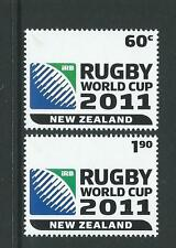 NEW ZEALAND 2010 RUGBY WORLD CUP 2011 UNMOUNTED MINT, MNH