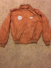 MICHIGAN INTERNATIONAL SPEEDWAY Camel GT Racing Brown Members Only Jacket XL