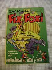 FIX UND FOXI ROLF KAUKA German COMIC activity book 1973 vintage Jahrgang 21 B 34