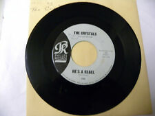 He's A Rebel by The Crystals (Philles 106 very good 45 record)