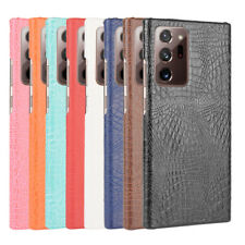 For Samsung Galaxy Note 20 / Note 20 Ultra Crocodile Leather PC Hard Back Case