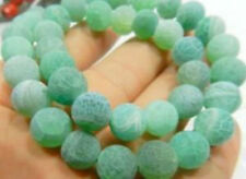 "6mm Dream Fire Dragon Veins Agate Loose Beads 15"""