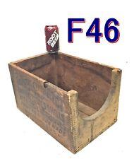 Ammo Box Peters League 12Ga Shot Gun Shell Wood Crate Ronnie Roberts As-Is