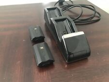 Xbox 360 Controller Charge Base Dock Charger Rechargeable Batteries Nyko As Is