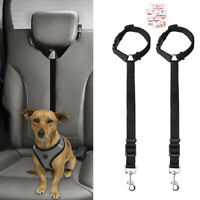 Adjustable Dog Pets Car Safety Seat Belt Harness Restraint Lead Travel Leash Cat