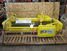 ACCO WRIGHT SERIES 32  5 TON WORK RATED  HOIST C2W05 WITH MOTORIZED TROLLEY