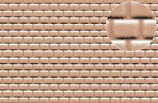 Slaters Embossed Plastikard No.0442 1:144 Roofing Tile