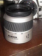 Minolta AF zoom 35-80 mm 1:4(22) 5.6 0.38m / 1.3ft Macro lens used w/free camera