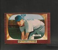 1955 Bowman # 181 Eddie Miksis NM