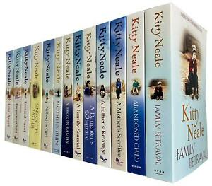 Kitty Neale Collection 13 Books Set A Broken Family, Abandoned Child, NEW