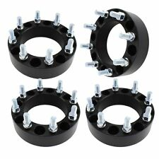 "(4) 2"" Wheel Spacers 8x170 Truck 14x1.5 (FINE) Billet for Ford F250 Superduty"