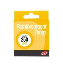 Vinyl Reinforcement Washers For Punched Holes Filing Rings Binders - Pack 250