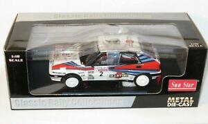 1/18 Martini Lancia Delta HF 8v Integrale  Lombard RAC Rally 1988  M.Alen