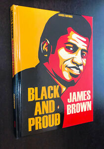 BLACK AND PROUD Hardcover (IDW) -- James Brown -- Fauthoux -- HC Graphic Novel