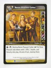 WoW: World of Warcraft Cards: BAROV PEASANT CALLER 304/361