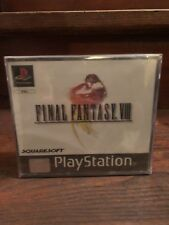 Final Fantasy VIII 8 Neuf Sous Blister PS1 New Sealed!
