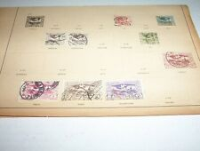 """9 - 1920 Antique Germany Stamps - """"HAUTE SILESIE"""""""