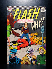 COMICS: DC: The Flash #171 (1967), Dr Light app - RARE (wonder woman/batman)