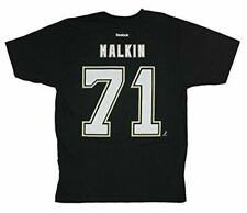 Pittsburgh Penguins NHL Evgeni Malkin Black Reebok Player T-shirt Large