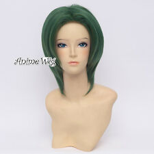 LOVE STAGE!! Sagara Rei 30CM Mixed Green Short Hair Anime Party Cosplay Wig