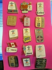 Collection of 2010 Vancouver Winter Olympic Pins