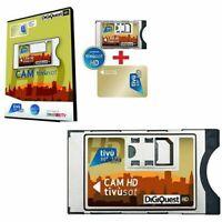 Modulo Cam Tivusat HD 4k Tivu sat Smart Cam Tv sat Completo di card da attivare