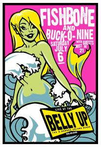 Scrojo Fishbone Buck-O-Nine 2002 Poster Belly Up Tavern Fishbone_0207