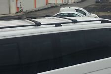 MERCEDES VITO VIANO on 2003 LWB ALUMINIUM LOCKABLE ROOF RAILS & CROSS BARS BLACK