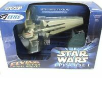 "Estes Flying Action Rocket Star Wars Episode 1 Sith Infiltrator Large 15"" New"