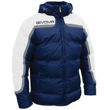 Givova Antartide Giubbotto Calcio Uomo Multicolore (blu/bianco) 2xs (b9x)