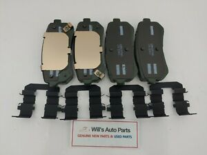 GENUINE BRAND NEW REAR BRAKE PAD PAIR SET SUITS KIA CERATO 2009 - 2013