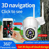 1080P Wireless WiFi IP Security Camera Smart Monitor CCTV System Home Baby Pet