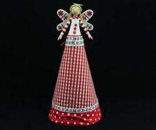 GISELA GRAHAM 29cm SIMPLY NORDIC FAIRY ANGEL CHRISTMAS TREE TOPPER DECORATION