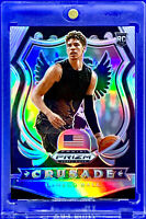 LAMELO BALL 2020-21 PANINI PRIZM SILVER  ROOKIE CRUSADE RC #83 HORNETS