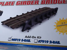 O-SCALE ATLAS #6919 THROUGH PLATE GRIDER ADD ON KIT BRIDGE KIT 3 RAIL