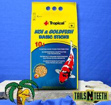 Tropical Koi & Goldfish Basic Sticks 800g ~ Basic Food for Pond Fish